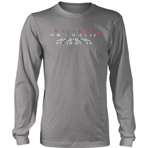 Focal Length, District Shirts and Hoodies T-shirt District Long Sleeve Shirt Grey S