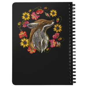 """Foxy"" Fox Spiral Notebook Journals"