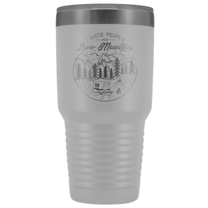 Love the Mountains | 30oz Tumbler Tumblers White