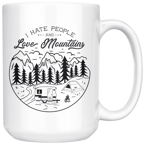 Image of Love The Mountains | 15oz. Mug Drinkware V.1