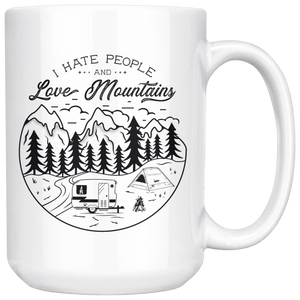 Love The Mountains | 15oz. Mug Drinkware V.1