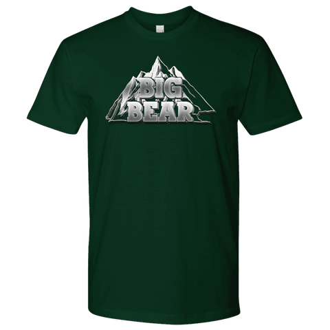 Image of Big Bear V.2, Mens T-shirt Next Level Mens Shirt Forest Green S