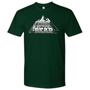 Big Bear V.2, Mens T-shirt Next Level Mens Shirt Forest Green S