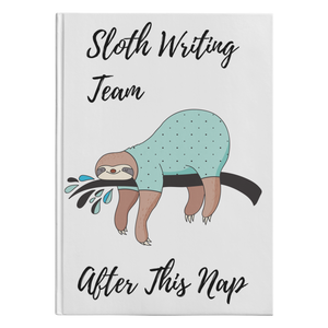Sloth Writing Team | Hardcover Journal