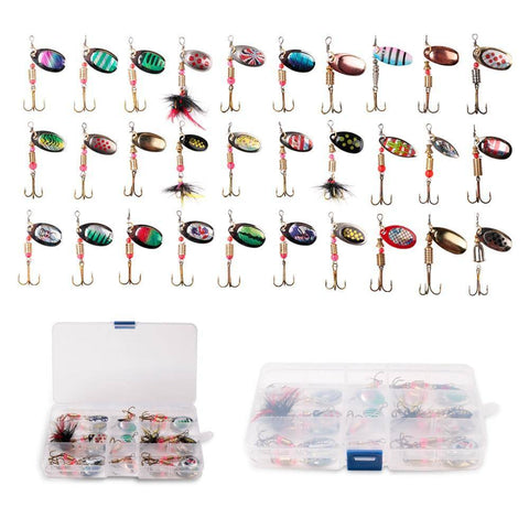Spinning Lure Sets | Loving These Spinners for Bass and Trout Fishing Lures