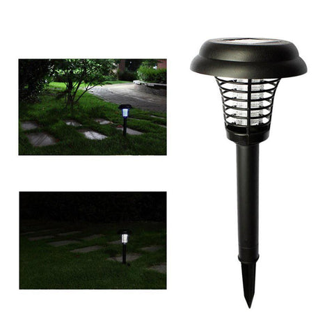 Image of Solar Powered Mosquito Zapper | Keep Your Family Safe and Pest Free | Set of 4 Mosquito Killer Lamps