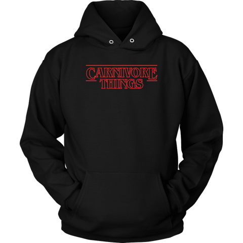 Carnivore Things T-shirt Unisex Hoodie Black S