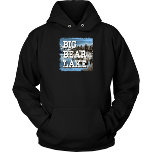 Big Bear Lake V.1 Hoodies and Long Sleeve T-shirt Unisex Hoodie Black S