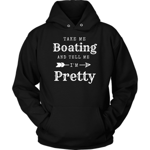 Take Me Boating Womens Shirts T-shirt Unisex Hoodie Black S