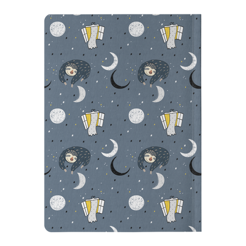 Image of Sleeping Space Sloth Journal | Soft Cover
