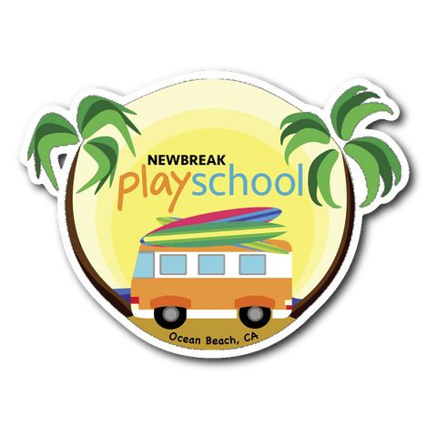 Newbreak Playschool Sticker Stickers Sticker