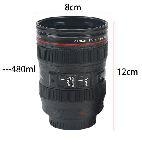 Coffee Lens Mug 400ML Mugs