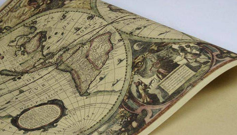 Image of 1641 Nautical Chart Map