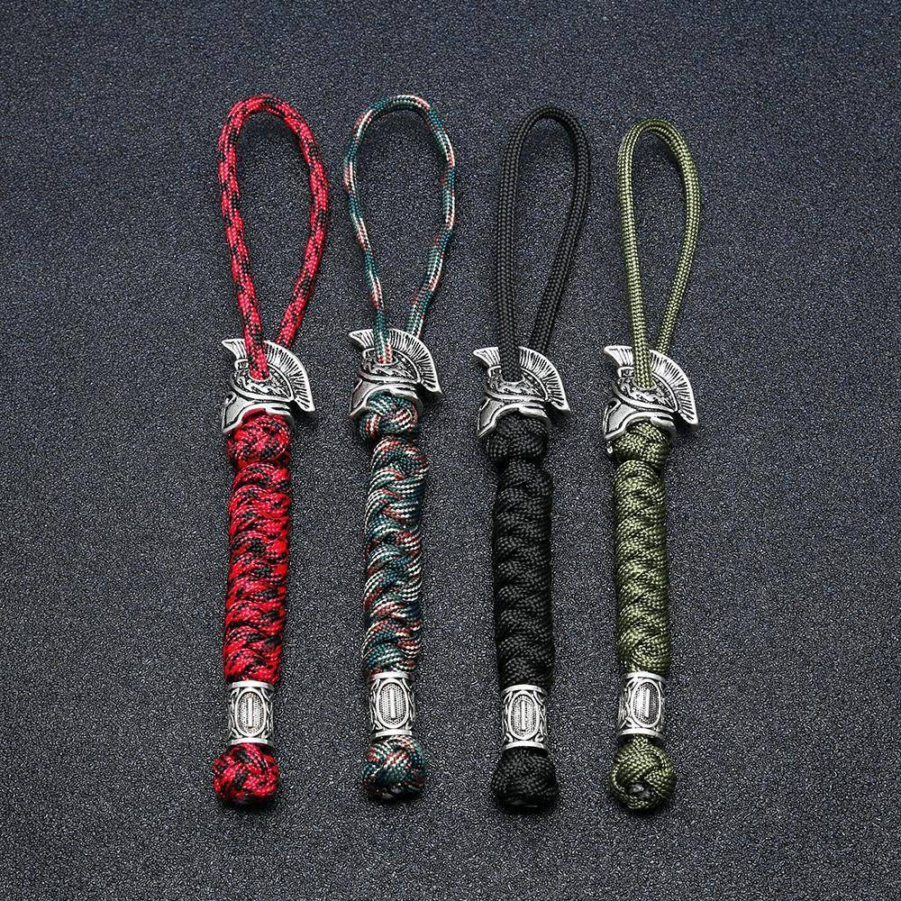 Spartan Custom Paracord Lanyard, Are You a Warrior?