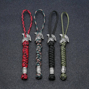 Spartan Custom Paracord Lanyard, Are You a Warrior? Key Chains