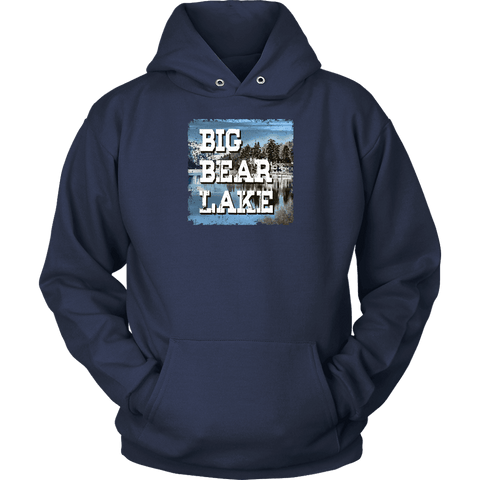 Image of Big Bear Lake V.1 Hoodies and Long Sleeve T-shirt Unisex Hoodie Navy S