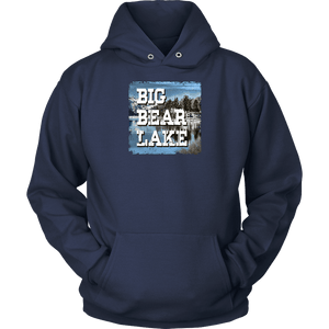 Big Bear Lake V.1 Hoodies and Long Sleeve T-shirt Unisex Hoodie Navy S
