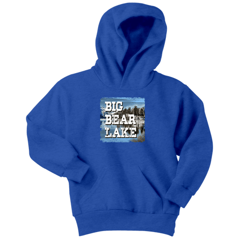 Image of Big Bear Lake V.1 Hoodies and Long Sleeve T-shirt Youth Hoodie Royal Blue XS
