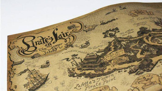Pirate Lair Map Map