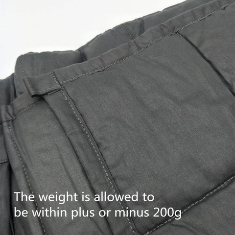 Image of Weighted Blanket for Decompression Blankets