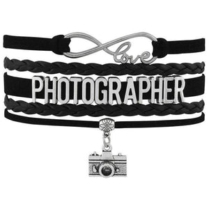 Infinity Love Photography Leather Wrap