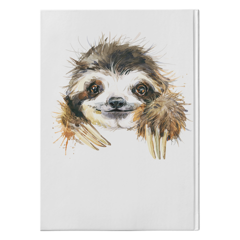 Happy Sloth | Hard Cover Journal