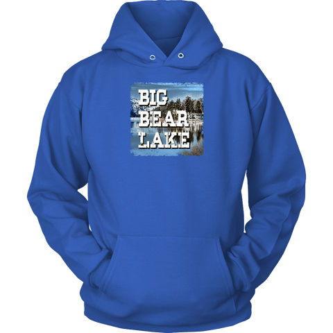 Image of Big Bear Lake V.1 Hoodies and Long Sleeve T-shirt Unisex Hoodie Royal Blue S