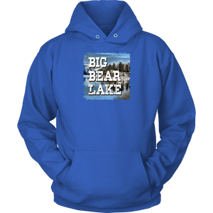 Big Bear Lake V.1 Hoodies and Long Sleeve T-shirt Unisex Hoodie Royal Blue S