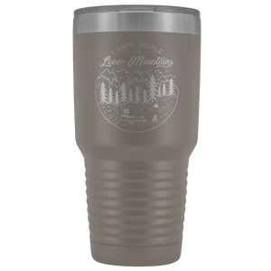 Love the Mountains | 30oz Tumbler Tumblers Pewter