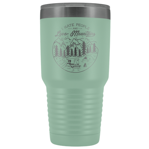 Image of Love the Mountains | 30oz Tumbler Tumblers Teal