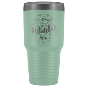 Love the Mountains | 30oz Tumbler Tumblers Teal
