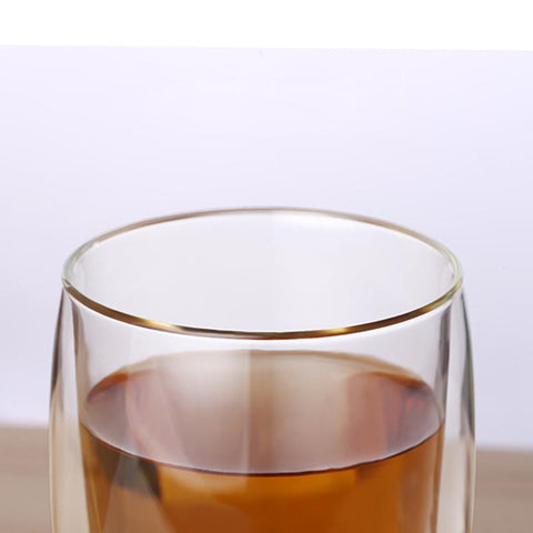 Image of Non Spill Insulated Glass Tumbler | Keep Your Drinks Ready Mugs