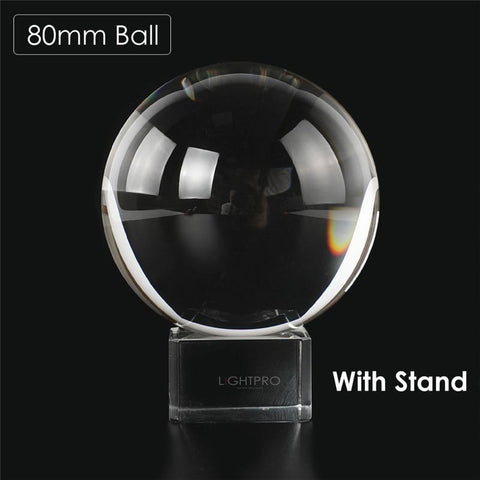 Image of Premium K9 Crystal Lens Ball. Take Your Viewers to a New World With Your Art Photo Studio Accessories