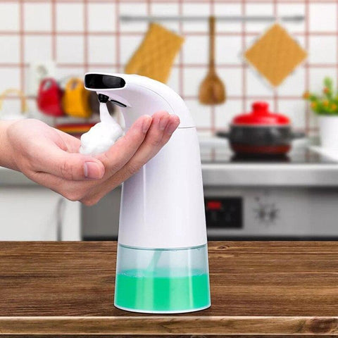 Image of Automatic Foam Soap Dispenser, Clean Your Hands without Spreading Germs Home
