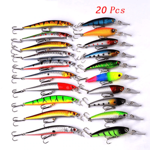 20 Fishing Lures Set Fishing Lures