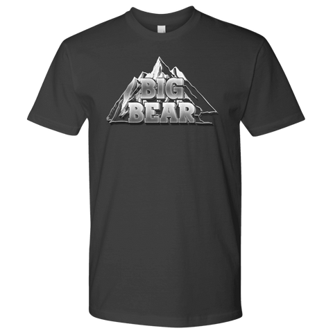 Image of Big Bear V.2, Mens T-shirt Next Level Mens Shirt Heavy Metal S