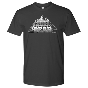 Big Bear V.2, Mens T-shirt Next Level Mens Shirt Heavy Metal S