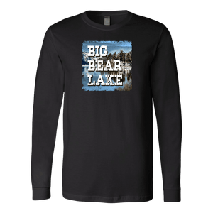 Big Bear Lake V.1 Hoodies and Long Sleeve T-shirt Canvas Long Sleeve Shirt Black S