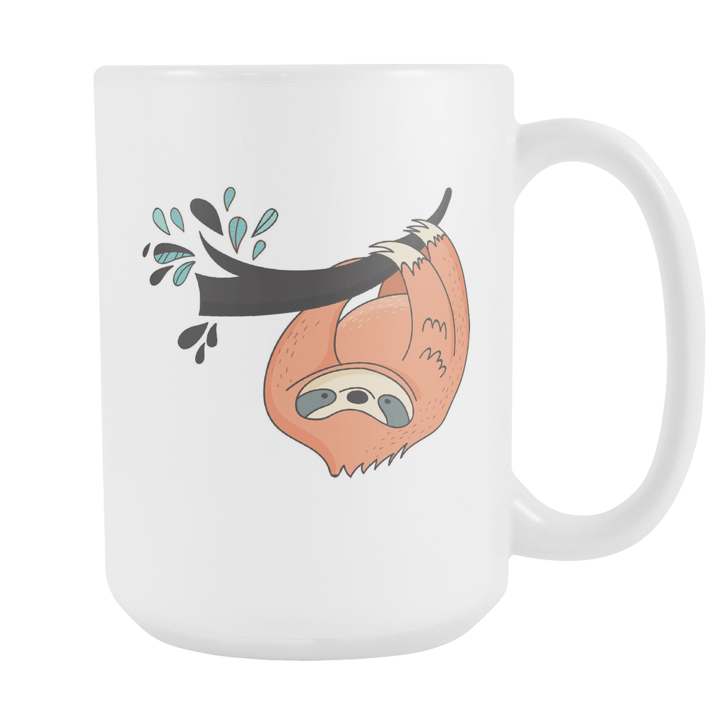 Sloth Coffee Mugs Set 1 Drinkware Just Hangin