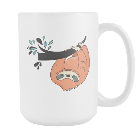Image of Sloth Coffee Mugs Set 1 Drinkware Just Hangin