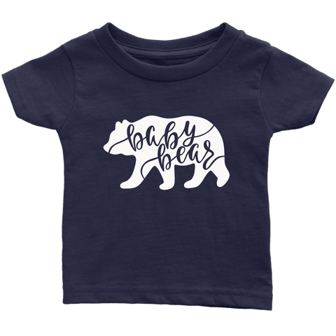 Baby Bear Shirts and Onesies T-shirt Infant T-Shirt Navy Blue 6M