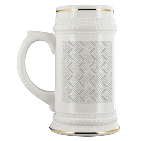 Image of DIY Custom Beer Steins Drinkware Template