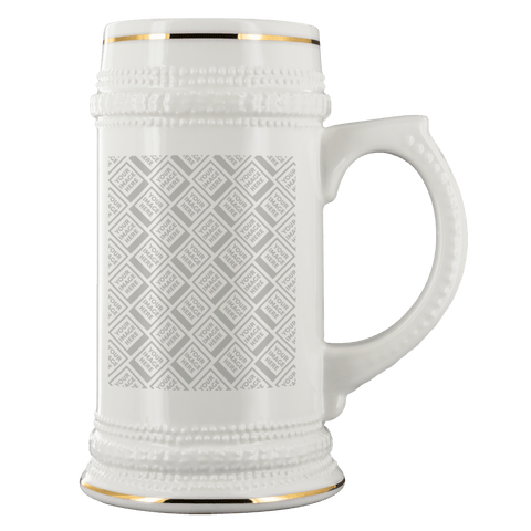 Image of DIY Custom Beer Steins Drinkware Template Personalized Beer Stein