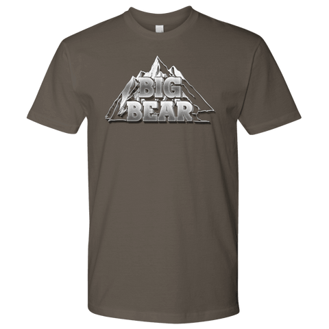 Image of Big Bear V.2, Mens T-shirt Next Level Mens Shirt Warm Grey S