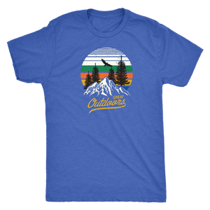 Great Outdoors Shirts | Mens T-shirt Next Level Mens Triblend Vintage Royal S