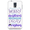 Don't Worry!, Philippians 4:6 Phone Cases Galaxy S5