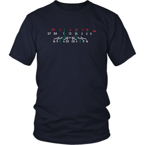 Focal Length, District Shirts and Hoodies T-shirt District Unisex Shirt Navy S