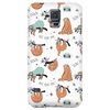White Sloth Collage Phone Case Phone Cases Galaxy S5