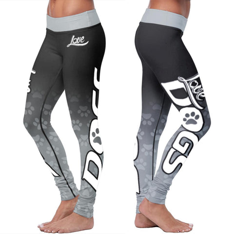 Image of Dog Leggings Leggings S