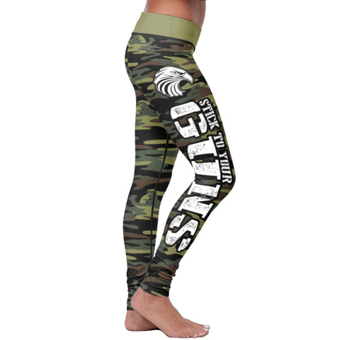 Image of American Patriot Green Camo Leggings